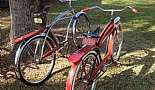 1965 Huffy Silver Jet, 1957 Evans Colson